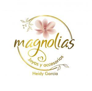 Logo magnolias editable